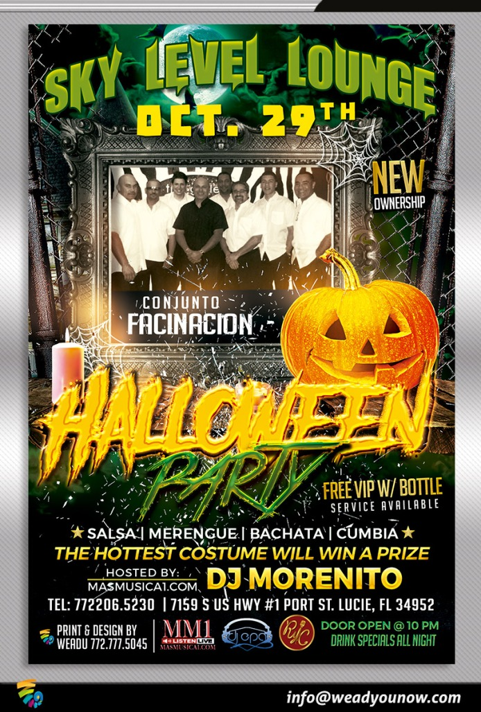 The Latin Halloween Party